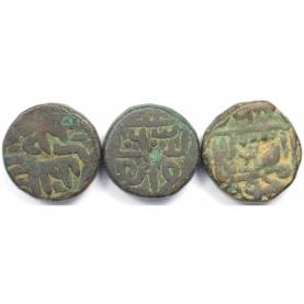 Lot von 3 Münzen 1411 - 1442 n. Chr avers