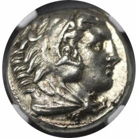 AR Tetradrachme 336 - 323 v. Chr avers