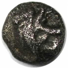 Tetartemorion (1/4 Obol) 6./5. Jahrhundert avers