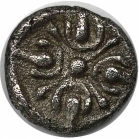 Hemiobol 395 - 353 v. Chr revers