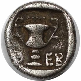 Hemidrachme 425 - 375 v. Chr revers