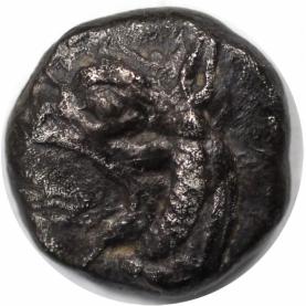 AR Diobol 521 - 478 v. Chr avers