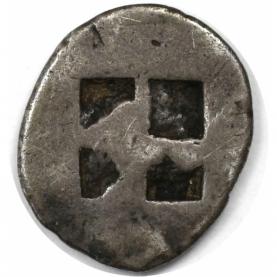 Obol 500 v. Chr revers