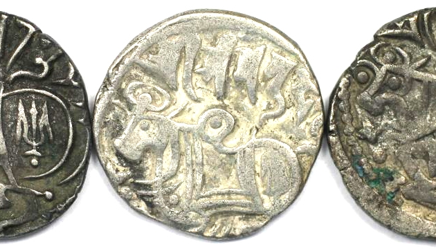 Lot von 3 Münzen 903 - 915 n. Chr revers