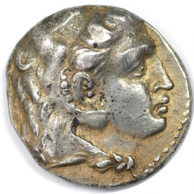 Tetradrachme 323 - 317 v. Chr avers