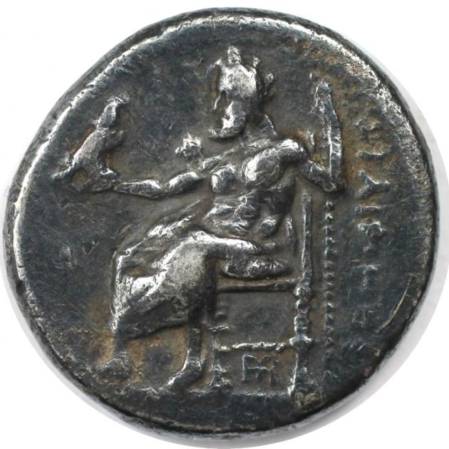 Drachme 323 - 317 v. Chr revers