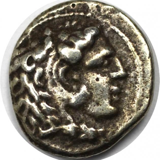 Hemidrachme 336 - 323 v. Chr avers