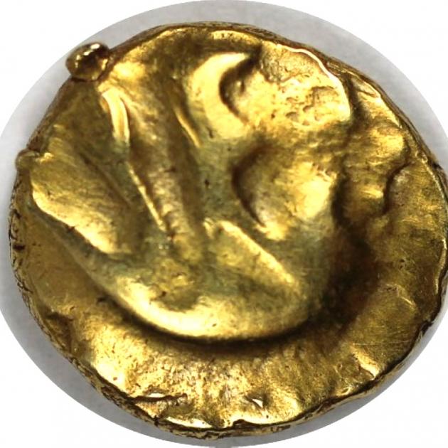 AV-1/4 Stater 60/25 v. Chr avers