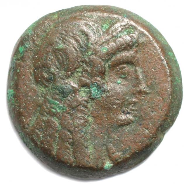 AE26 180-145 v.Chr. avers