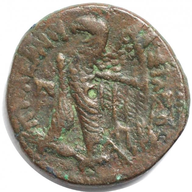 AE 26 180 - 145 v.Chr. revers