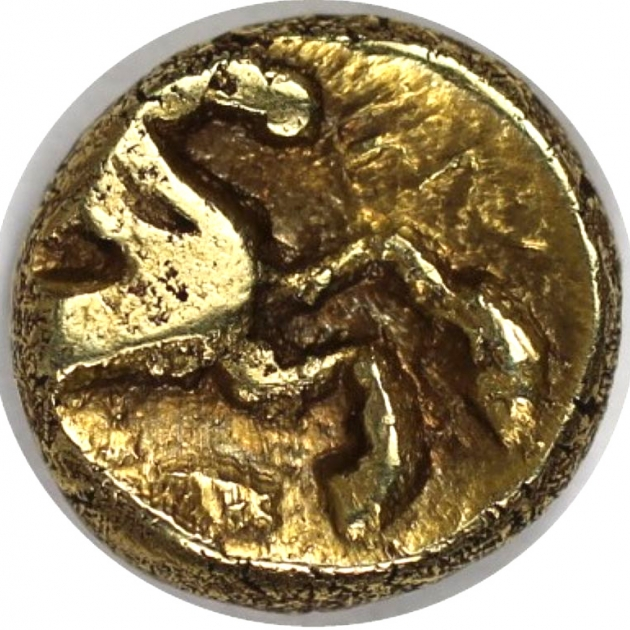 AV-1/4 Stater 60-25 v. Chr revers