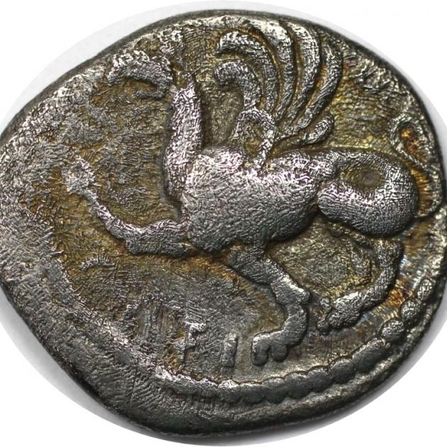 Drachme 480 v. Chr avers