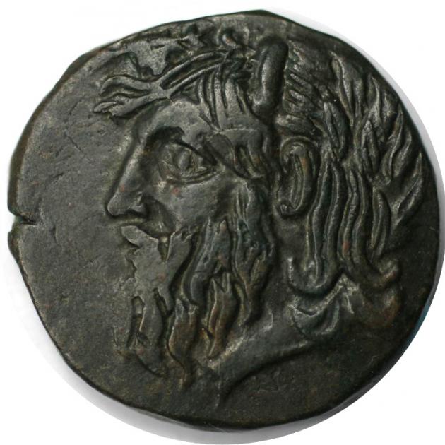 Bronze 330 - 300 v. Chr avers