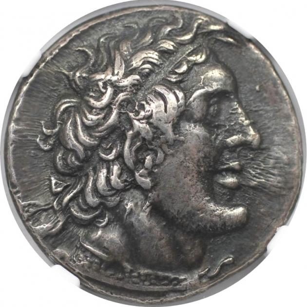AR Tetradrachme 285 / 4-246 v. Chr avers