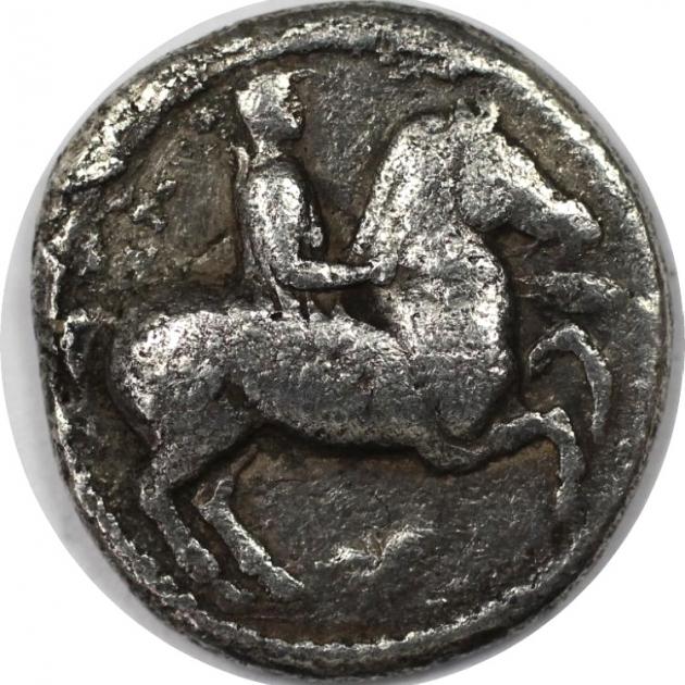 Tetrobol 443 - 438 v. Chr avers