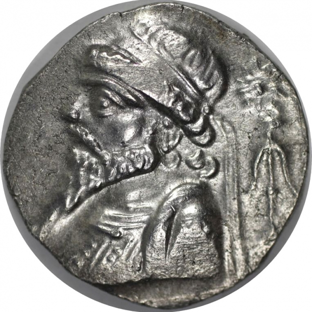 AR Tetradrachme 54 - 32 v. Chr avers