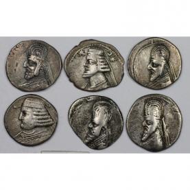 Lot Von 6 Münzen 123 Vchr 51 Nchr